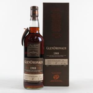 Glendronach 1968 PX Sherry 47 Year Old Single Cask #5837