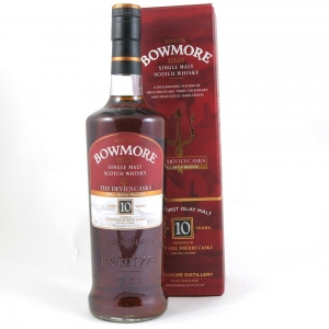 Bowmore 10 Year Old Devil's Cask Batch #1 75cl (US Import) front