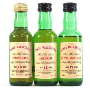 James MacArthur Miniature Selection 3 x 5cl / Including Springbank