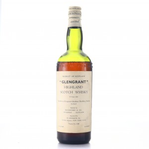 Glen Grant 15 Year Old Mackintosh and Co circa 1940s / US Import