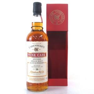 Auchroisk 2001 Cadenhead's 16 Year Old Wine Cask