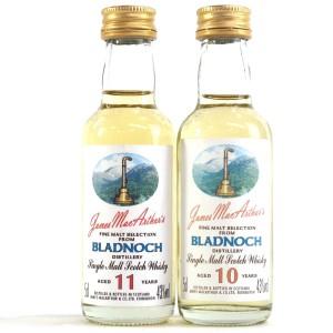 Bladnoch James MacArthur Miniatures 2 x 5cl