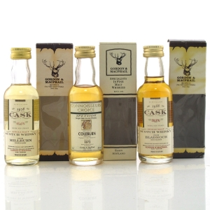 Gordon and MacPhail Miniature Selection 3 x 5cl / includes Coleburn 1972