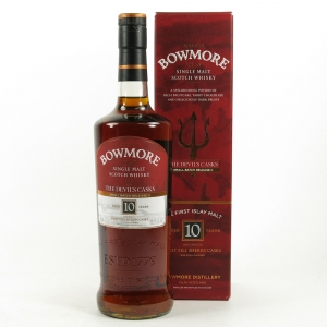 Bowmore Devil's Cask 10 Year Old Batch #2 US Import 75cl Front