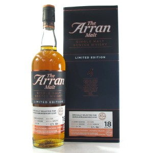 Arran 2000 Single Cask 18 Year Old / arranwhisky.com