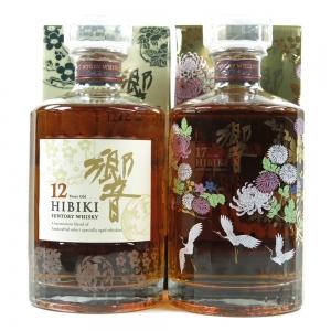 Hibiki 12 & 17 Year Old / Kacho Fugestu Limited Edition 2 x 70cl