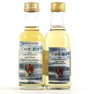 CaolIla1984 The Whisky House 11 Year Old Miniature 2 x 5cl