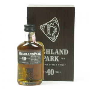 Highland Park 40 Year Old Miniature 5cl