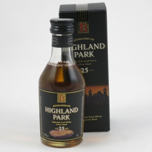 Highland Park 25 Year Old Miniature 5cl front