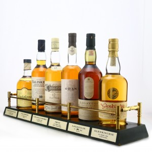 Classic Malts Collection 6 x 70cl / Includes Plinth