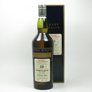 Mortlach 1978 Rare Malt 20 Year Old Front