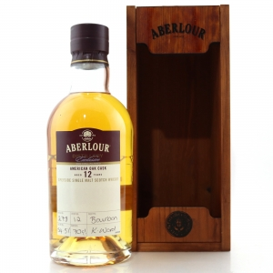 Aberlour 12 Year Old Distillery Exclusive / Bourbon Cask