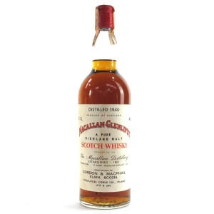 Macallan 1940 Gordon and MacPhail 29 Year Old / Donini Import