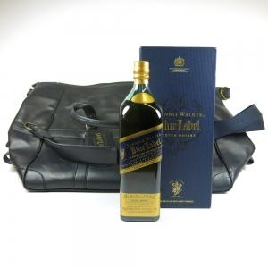 Johnnie Walker Blue Label 1 Litre and Golf Bag
