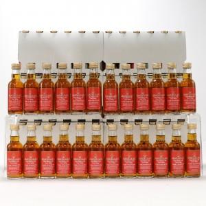 Macallan Cask Strength Miniatures 96 x 5cl / Case - US Import