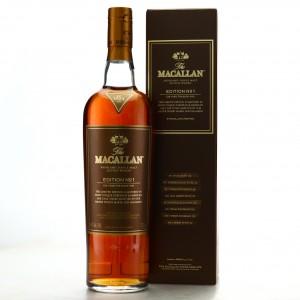 Macallan Edition No.1