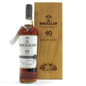 Macallan 40 Year Old 2017 Release 75cl / US Import
