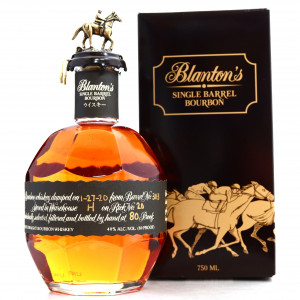 Blanton's Single Barrel Black Label Dumped 2020 / Japanese Import