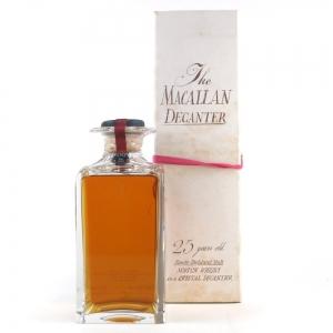 Macallan 1965 / The Macallan Decanter 25 Year Old