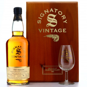 Dalmore 1965 Signatory Vintage 35 Year Old Cask Strength
