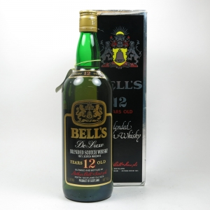 Bell's 12 year old De Luxe 1980s 1 Litre