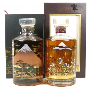 Hibiki 21 Year Old and 17 Year Old Mount Fuji Limited Edition