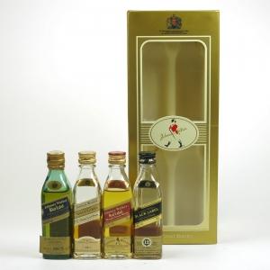 Johnnie Walker Miniature Collection 4 x 5cl