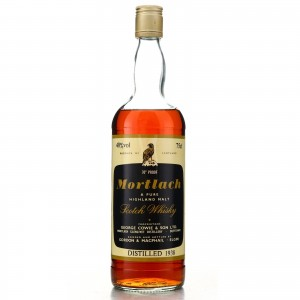 Mortlach 1938 Gordon and MacPhail / German Import