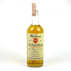 Watson's No.10 Very Fine Whisky 1970s