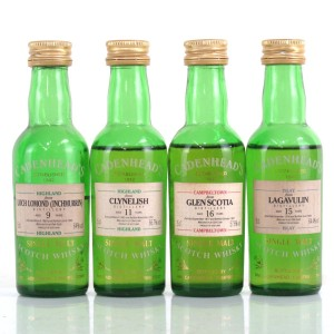 Single Malt Cadenhead's Miniatures 4 x 5cl