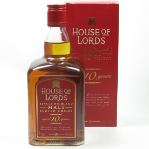 House Of Lords Single Highland Malt 10 Year Old