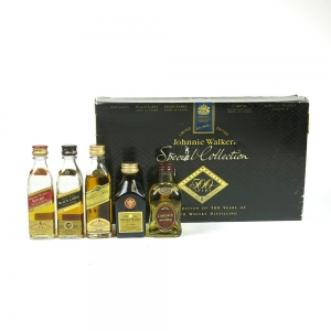 Johnnie Walker Special Collection 500 Years (Including Johnnie Walker Liqueur) 5 x 5cl