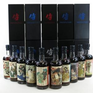Karuizawa Samurai Collection 10 x 70cl