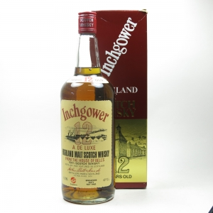 Inchgower 12 Year Old 1980s 1 Litre