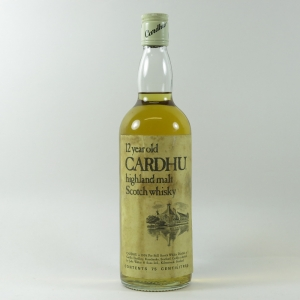 Cardhu 12 Year Old 75cl Circa 1970s front