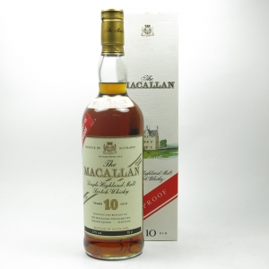 Macallan 10 Year Old 100 Proof 1980s Front