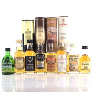 Highland and Island Miniature Selection 9 x 5cl