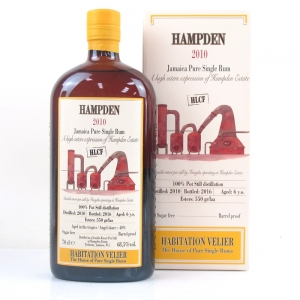 Hampden 2010 Habitation Velier 6 Year Old Jamaican Rum