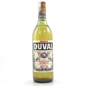 Duval Pastis 1 Litre 1980s