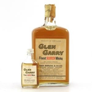Glen Garry Finest Scotch Whisky 1970s / with Miniature 3.75cl