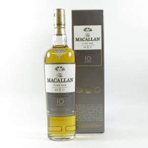 Macallan 10 Year Old Fine Oak front