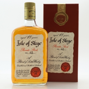Isle of Skye 18 Year Old Private Stock 1980s