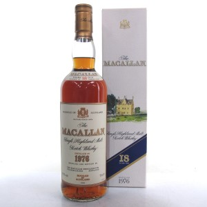 Macallan 18 Year Old 1976