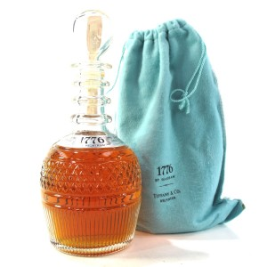 Seagram '1776' Premium American Whiskey 1976 / Tiffany Decanter