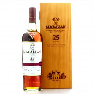 Macallan 25 Year Old Sherry Oak pre-2018