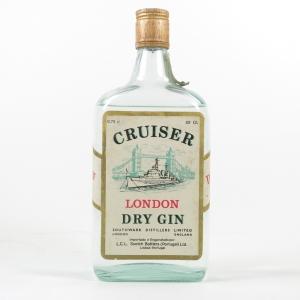 Cruiser London Dry Gin Circa 1980s