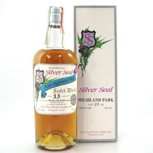 Highland Park 1990 Silver Seal 13 Year Old