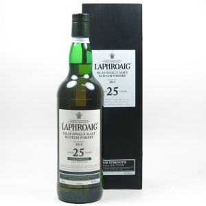 Laphroaig 25 Year Old 2008 Edition Front