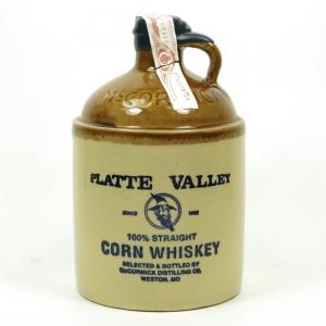 Platte Vallet Corn Whiskey Decanter
