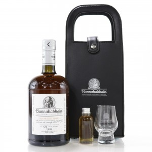Bunnahabhain 1988 Champagne Finish / Feis Ile 2019 - with 1cl Sample & Glass